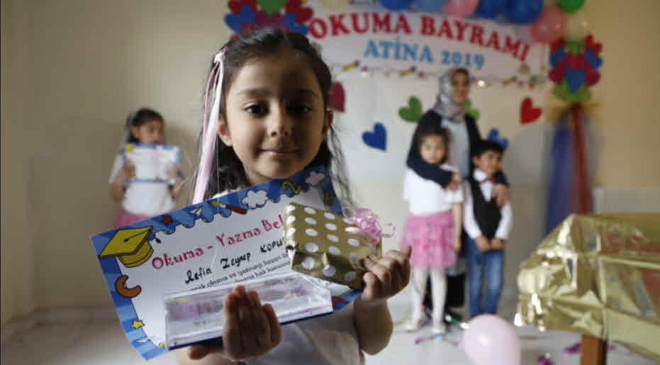 Photo of Atina'daki Türkiyeli mülteciler okuma şenliği yaptı