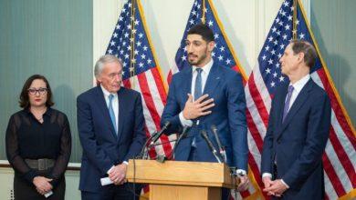 Photo of Enes Kanter, ABD Kongresi'nin konuğu oldu