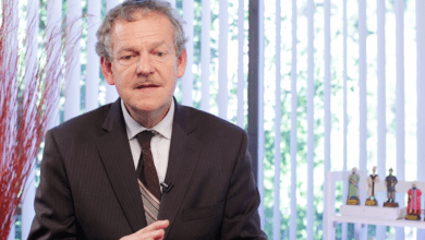 Photo of Prof. Dr. Philip Clayton Hizmet Hareketini anlatıyor