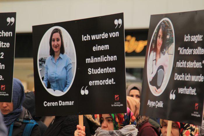 Başkent Berlin'den Türkiye'deki kadınlar için haykırdılar 5