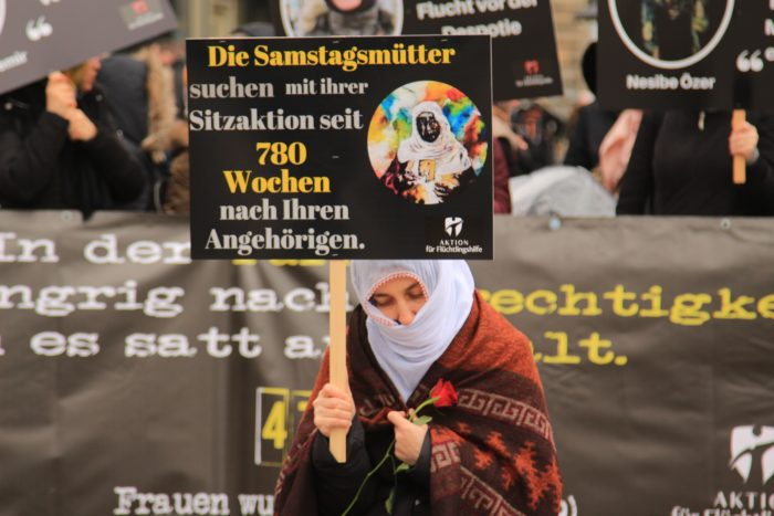 Başkent Berlin'den Türkiye'deki kadınlar için haykırdılar 6