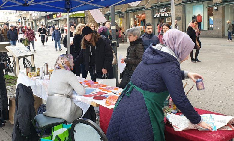 Türkiye'deki kadınlara bir destekte Essen'den 1