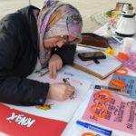 Türkiye'deki kadınlara bir destekte Essen'den 8
