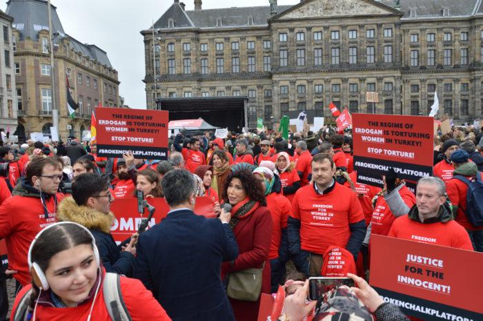 Hollanda Milletvekili Özütok: Türkiye'de hapse atılan kadınları duyduğumuzda yüreğimiz acıyor 1