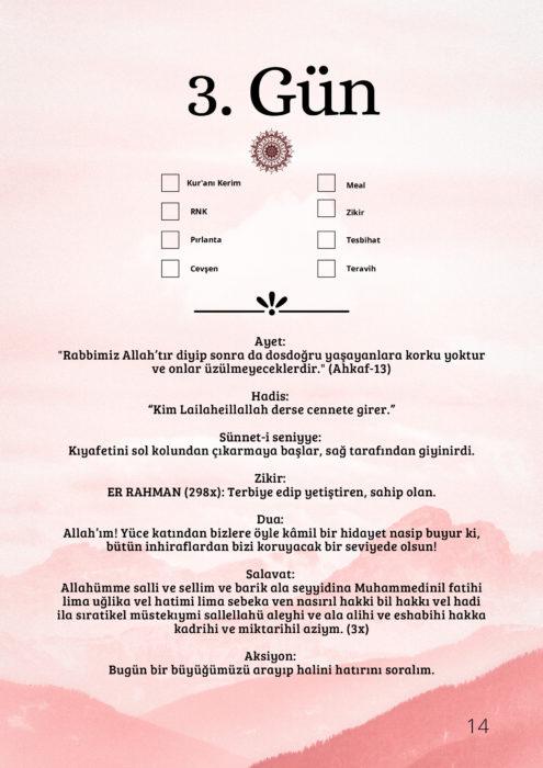 Ramazan Çetelem   3.Gün 6