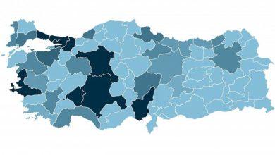 Photo of Türkiye'de hangi ilde ne kadar koronavirüs (Covid-19) vakası görüldü?