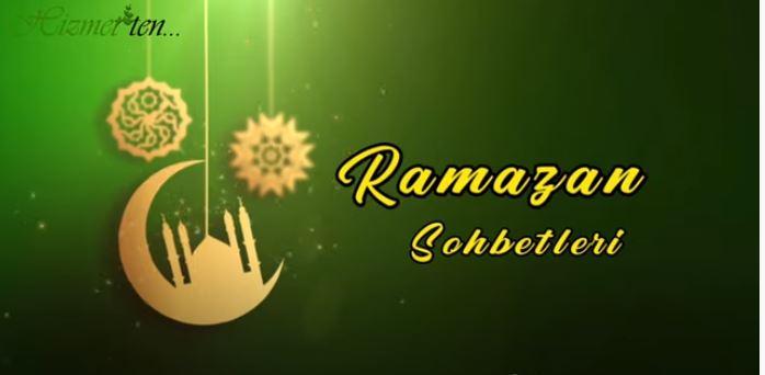 Abdullah Aymaz Ağabey ile Ramazan Sohbeti saat bugün 17.00'de 1