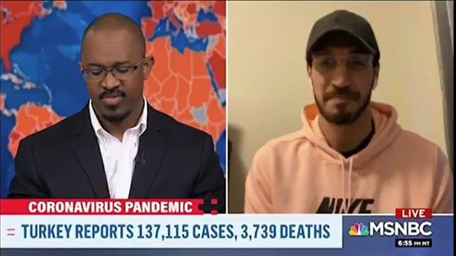 Enes Kanter MSNBC yayınında Türkiye'deki zulümleri anlattı 1