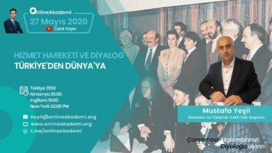 Photo of Online Akademi'nin konuğu bugün Mustafa Yeşil