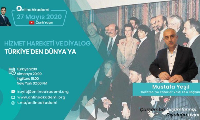 Online Akademi'nin konuğu bugün Mustafa Yeşil 1