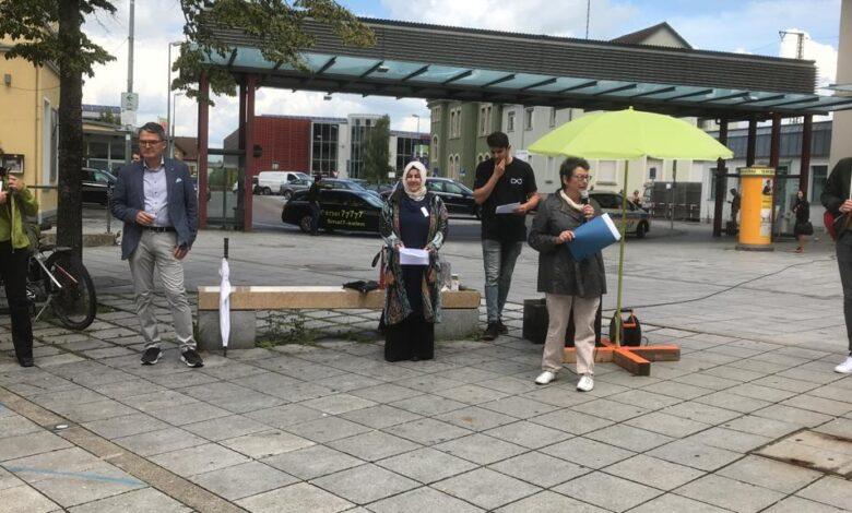 Aalen'de Dünya Mülteciler Günü etkinliği 1