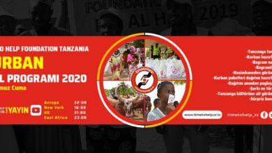 Photo of Başladı | Tanzanya'dan CANLI yayın Avrupa saati ile 22.00'de