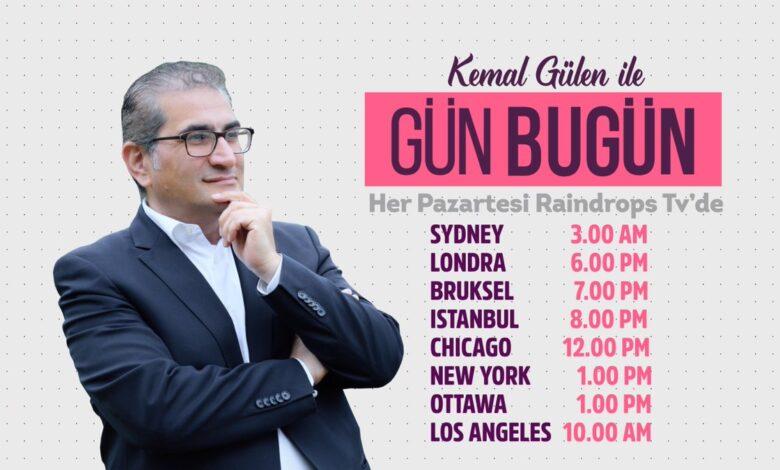 Kemal Gülen ile 'Gün Bugün' başlıyor 1