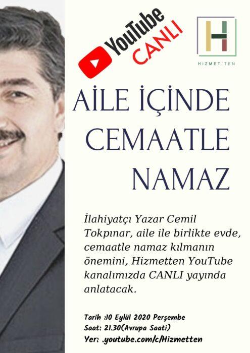 BAŞLADI | Cemil Tokpınar bu akşam 21.30'da canlı yayın konuğumuz 2