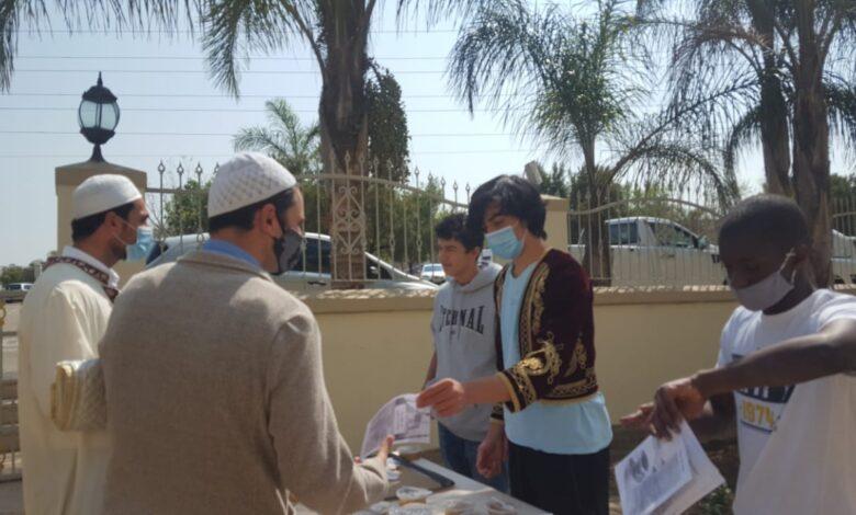 Nizamiye, aşure geleneğini devam ettiriyor | G.Afrika-Türkmen Terzi 1
