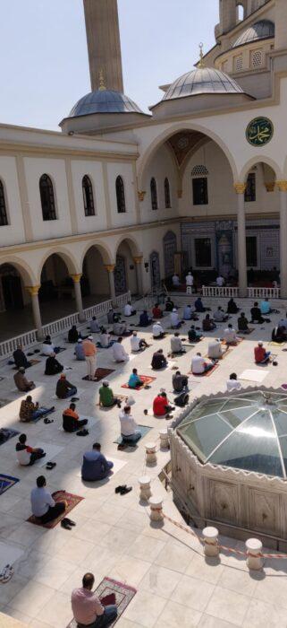 Nizamiye, aşure geleneğini devam ettiriyor | G.Afrika-Türkmen Terzi 5
