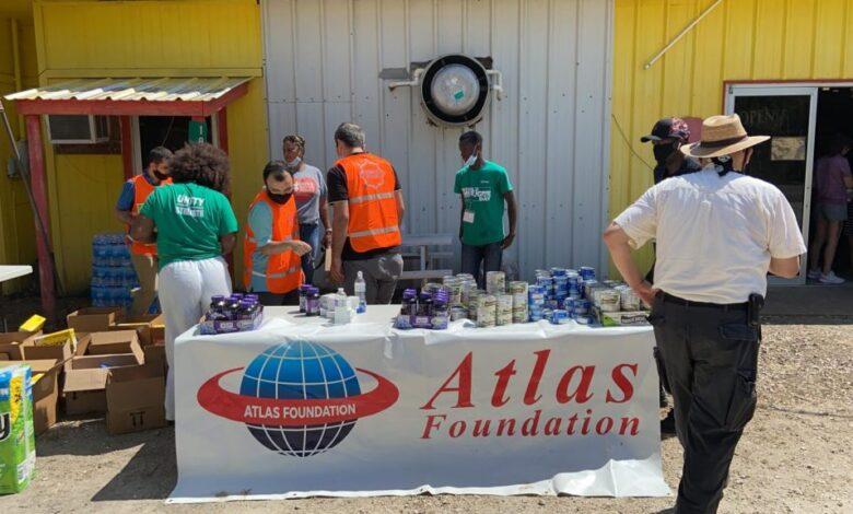 Atlas Vakfı kasırgadan zarar görenlerin yardımına koştu 1
