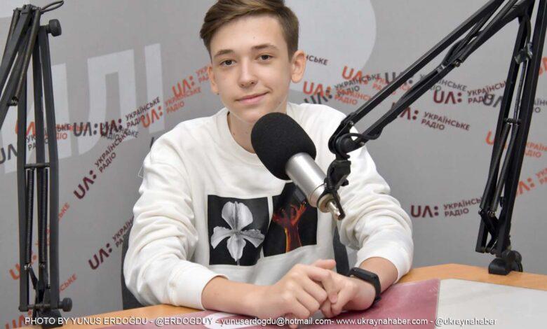 Meridyen Okullarının öğrencisi başarı hikayesini Ukrayna Radyosu'na anlattı 1