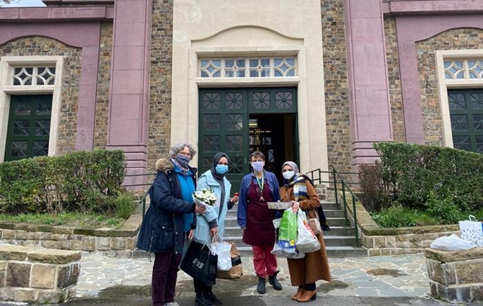 Nice saldırısı sonrası Belçika'daki kiliseye taziye ziyareti 1