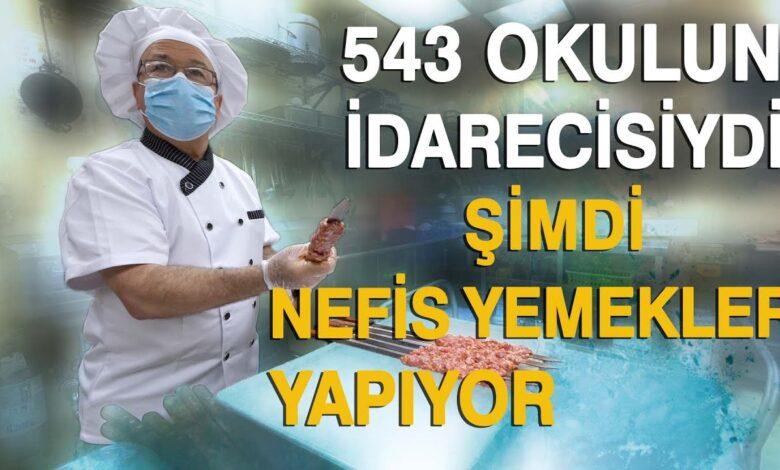 Türkiye'de bir çok okulun idarecisiydi, şimdi nefis yemekler yapıyor 1