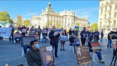 Almanya'da 'Beyaz Sandalye' ile adalet çağrısı 5