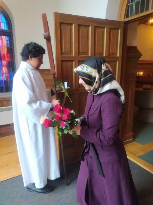 Norveç'te yaşayan Müslümanlardan kilise cemaatine anlamlı ziyaret 2