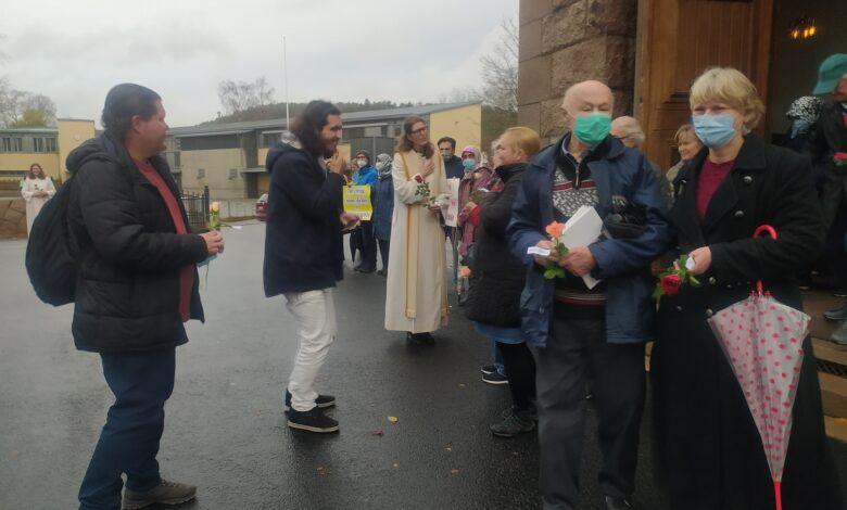 Norveç'te yaşayan Müslümanlardan kilise cemaatine anlamlı ziyaret 1