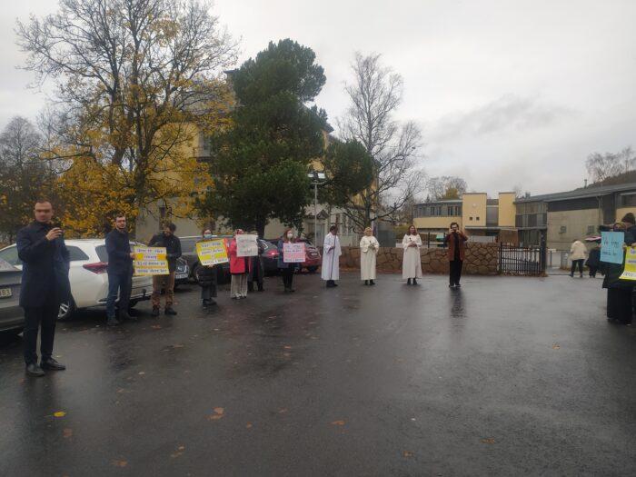 Norveç'te yaşayan Müslümanlardan kilise cemaatine anlamlı ziyaret 4