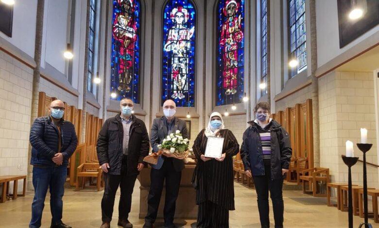 NRW'deki Hizmet gönüllüleri Duisburg'taki Kiliseye taziyelerini iletti 1