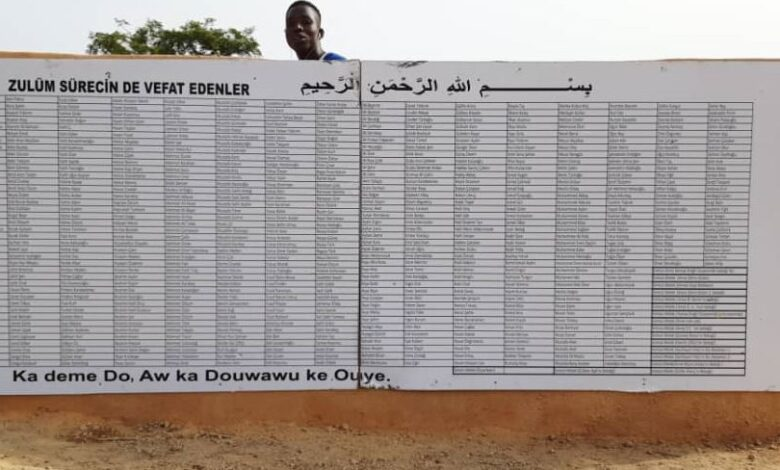 Vefat eden her bir isim için Afrika'da su kuyusu 1