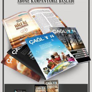 Çağlayan Dergisi yıllık abone kampanyası devam ediyor 1