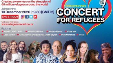 Güney Afrika Hizmet kurumlarından mülteciler yararına dev konser 21