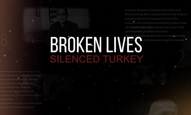 """""""Broken Lives, Silenced Turkey""""' mazlumların sesi oldu 1"""