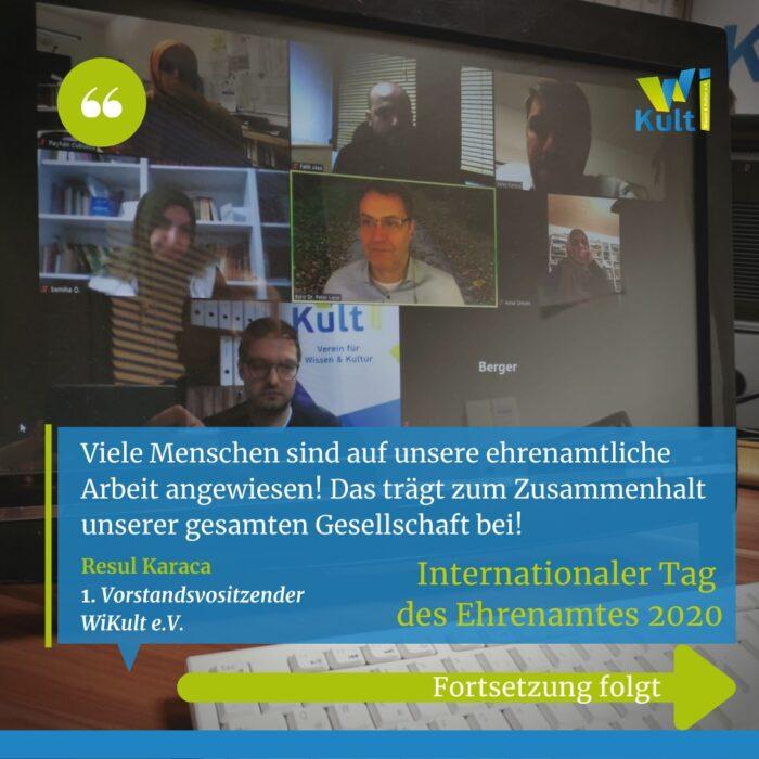 WiKult'ten Dünya Gönüllüler Günü toplantısı 2