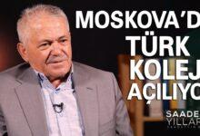 Moskova'da Türk Koleji açılıyor-Saadetli yıllarım | Sadettin Başer 25