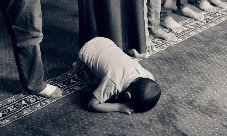 Efendimiz (sas) ve çocuklara dua 1