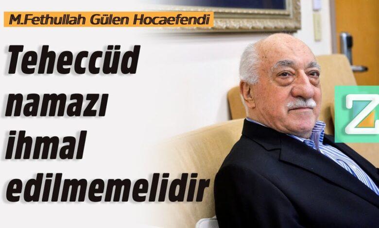 Teheccüd namazı ihmal edilmemelidir | M.Fethullah Gülen Hocaefendi 1