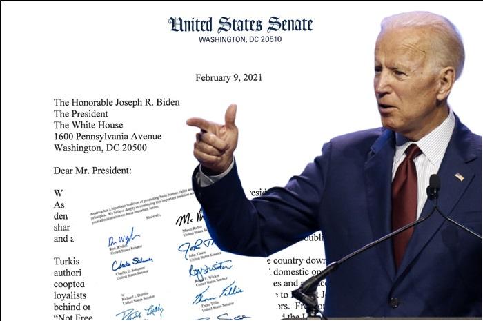 Senatörlerden Biden'a Türkiye baskısı 1