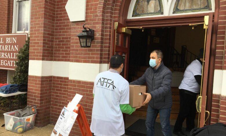 Virginia'daki gönüllülerden ihtiyaç sahiplerine destek 1