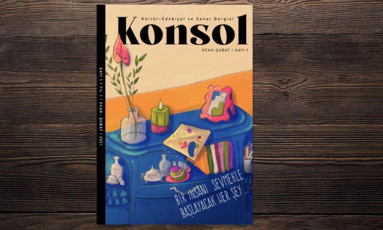 """Kadın dergisi """"KONSOL"""" yayın hayatına başladı 1"""