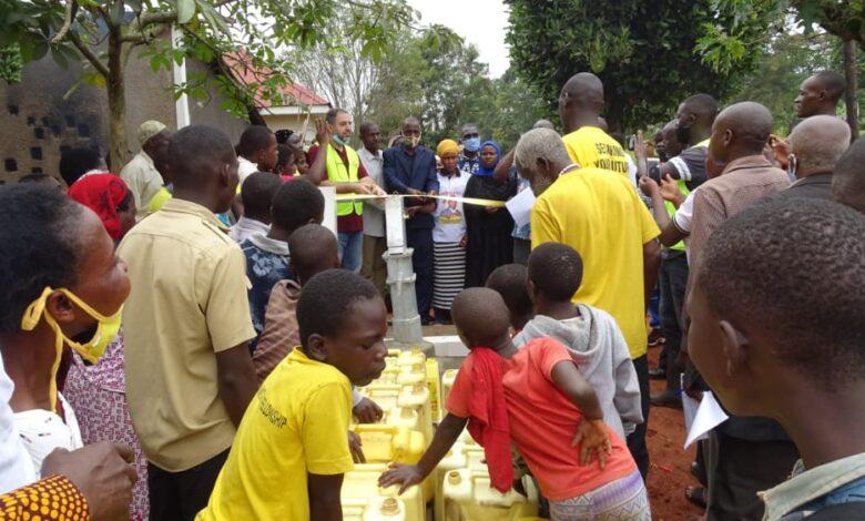 Time to Help Uganda'ya yeni su kuyuları açtırdı 1