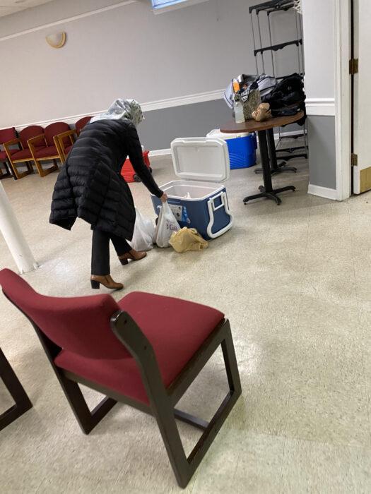 Virginia'daki gönüllülerden ihtiyaç sahiplerine destek 4