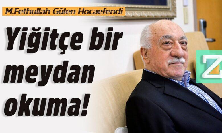 Yiğitçe bir meydan okuma! | M.Fethullah Gülen Hocaefendi 1
