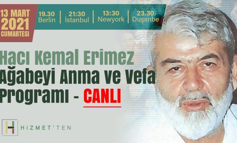 BAŞLADI-CANLI | Hacı Kemal Erimez Ağabeyi Anma ve Vefa Programı 1