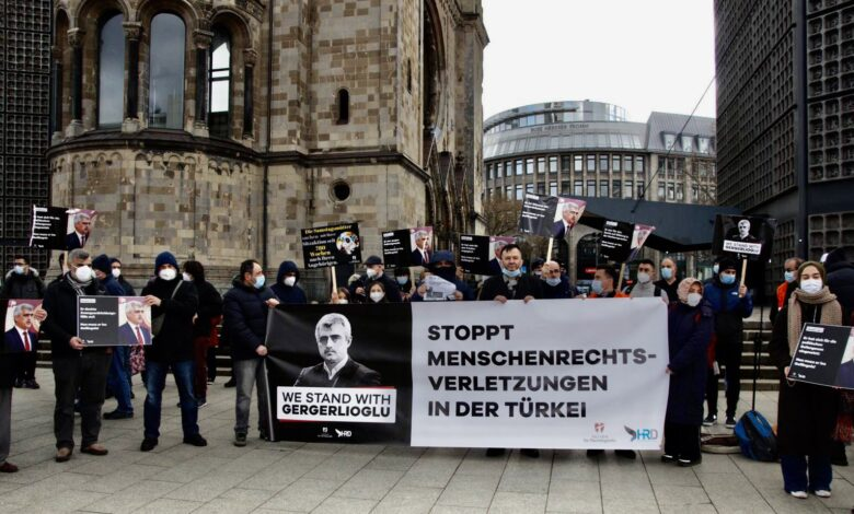 Aktion eV.'den Gergerlioğlu'na destek 1