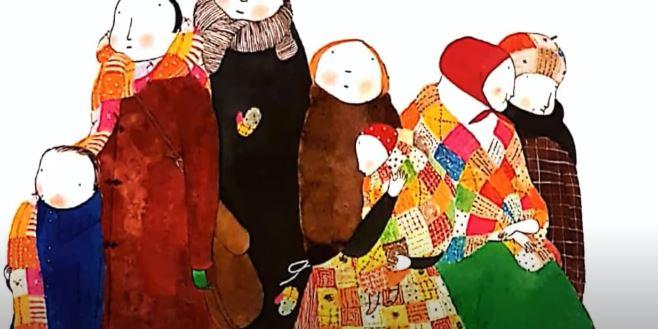 Hollanda'daki muhacir ailelerin çocuklarından Türkiye'deki ailelere destek 1