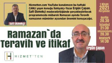 BAŞLADI-CANLI   Ergün Çapan Ramazan ve Teravih'i anlatacak 5