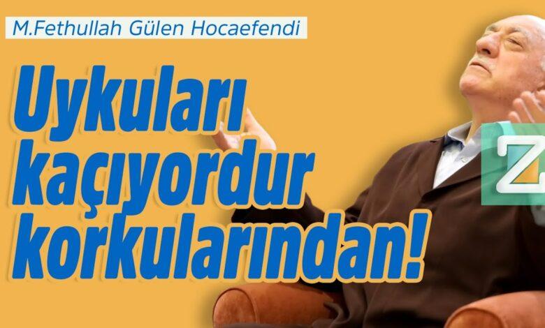 Uykuları kaçıyordur korkularından!   M.Fethullah Gülen Hocaefendi 1
