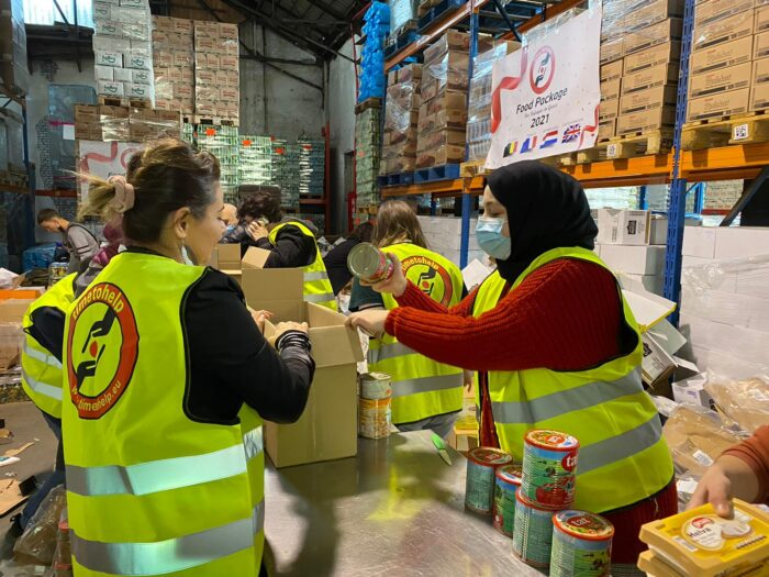 Ramazan paketleri Yunanistan'a doğru yola çıktı 3
