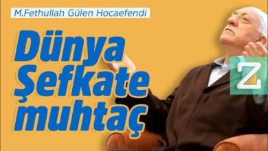 Dünya şefkate muhtaç | M. Fethullah Gülen Hocaefendi 7